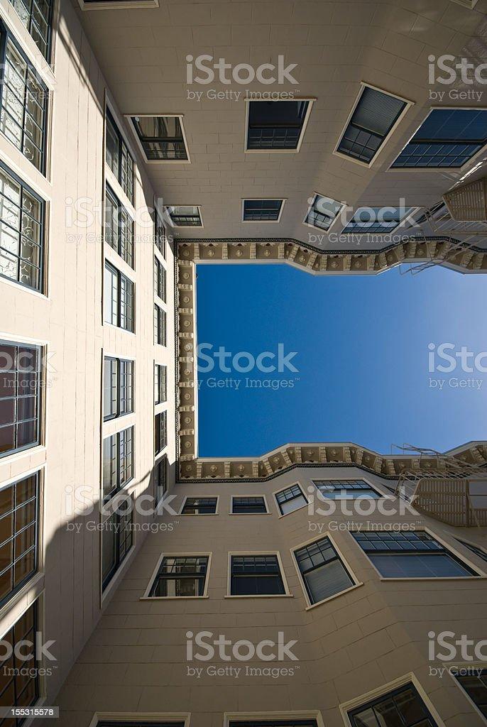 San Francisco olhando para cima foto de stock royalty-free