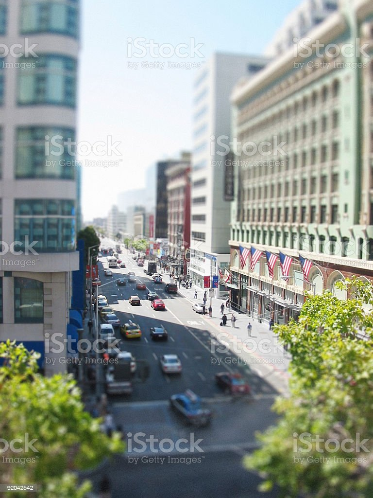 San Francisco Miniature #3 royalty-free stock photo