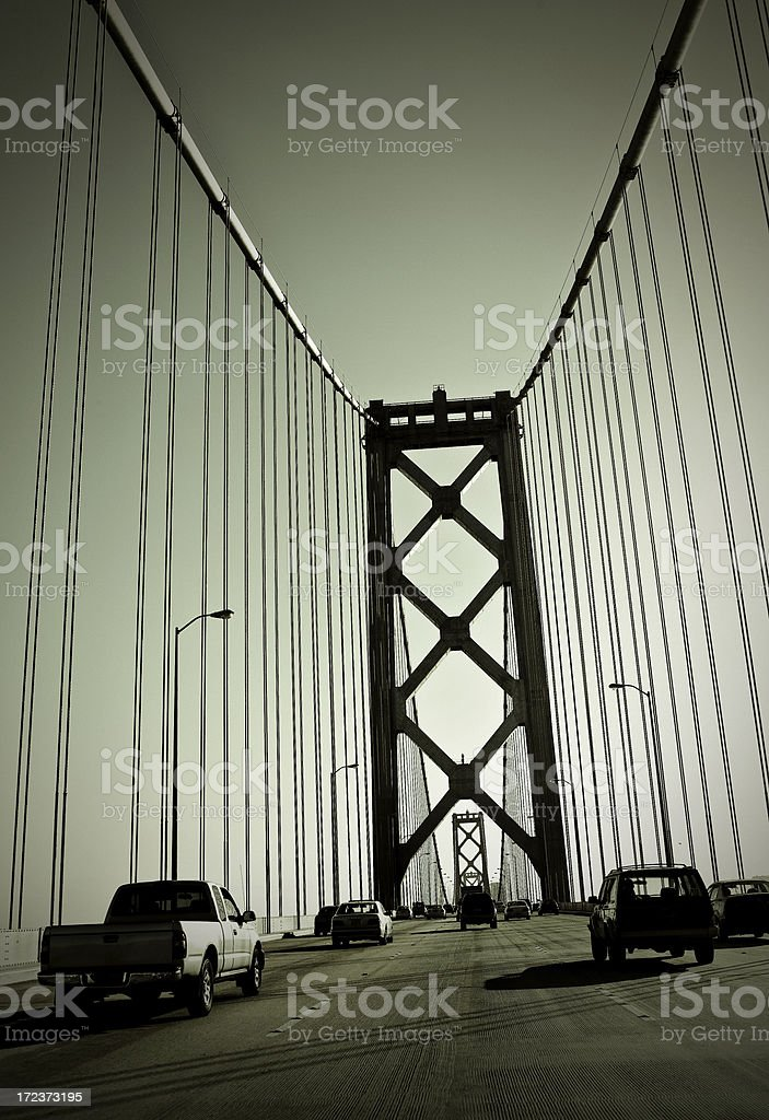 San Francisco - Oakland Bay Bridge stock photo