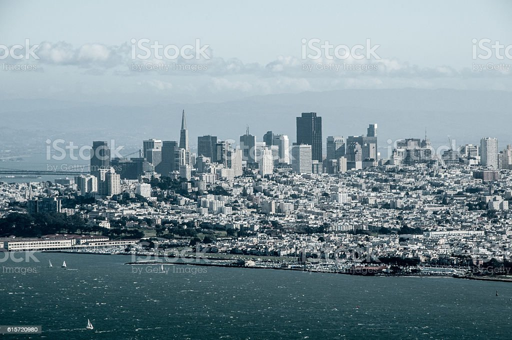 San Francisco Over Watch stock photo