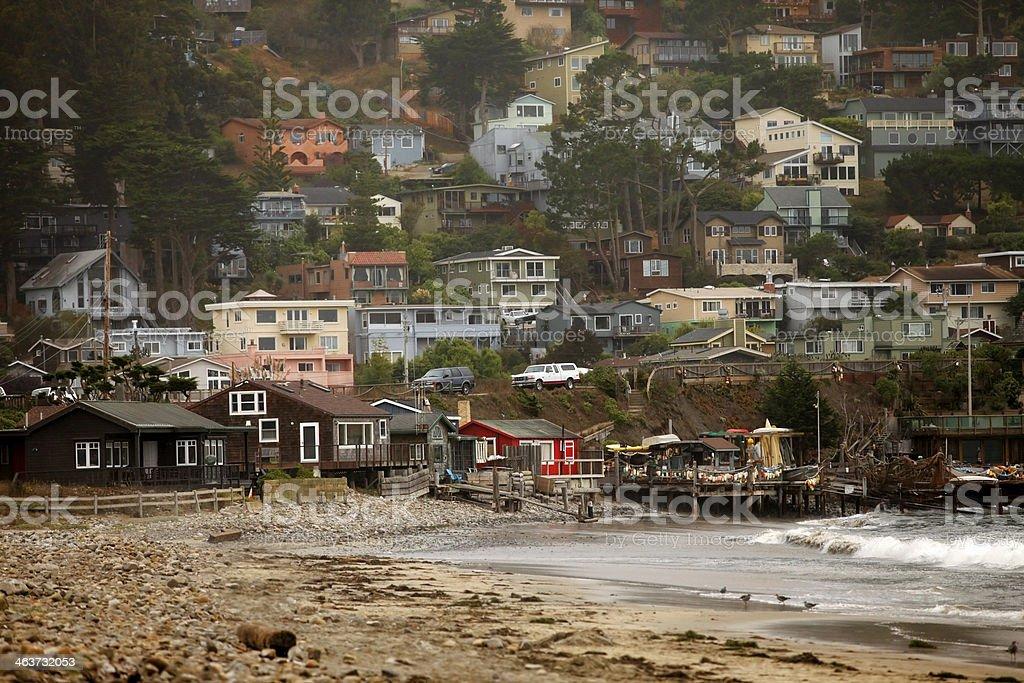 San Francisco. Pacifica State Beach stock photo