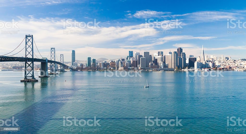 San Francisco Panorama stock photo