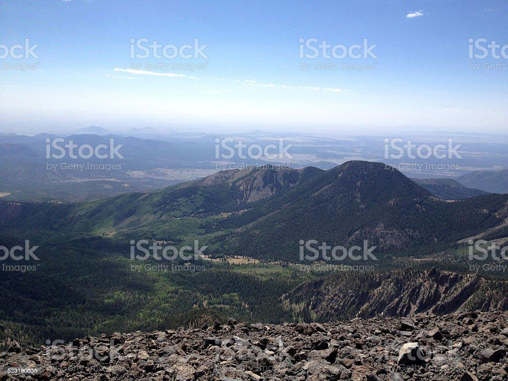 San Francisco Peaks, Arizona (USA) stock photo