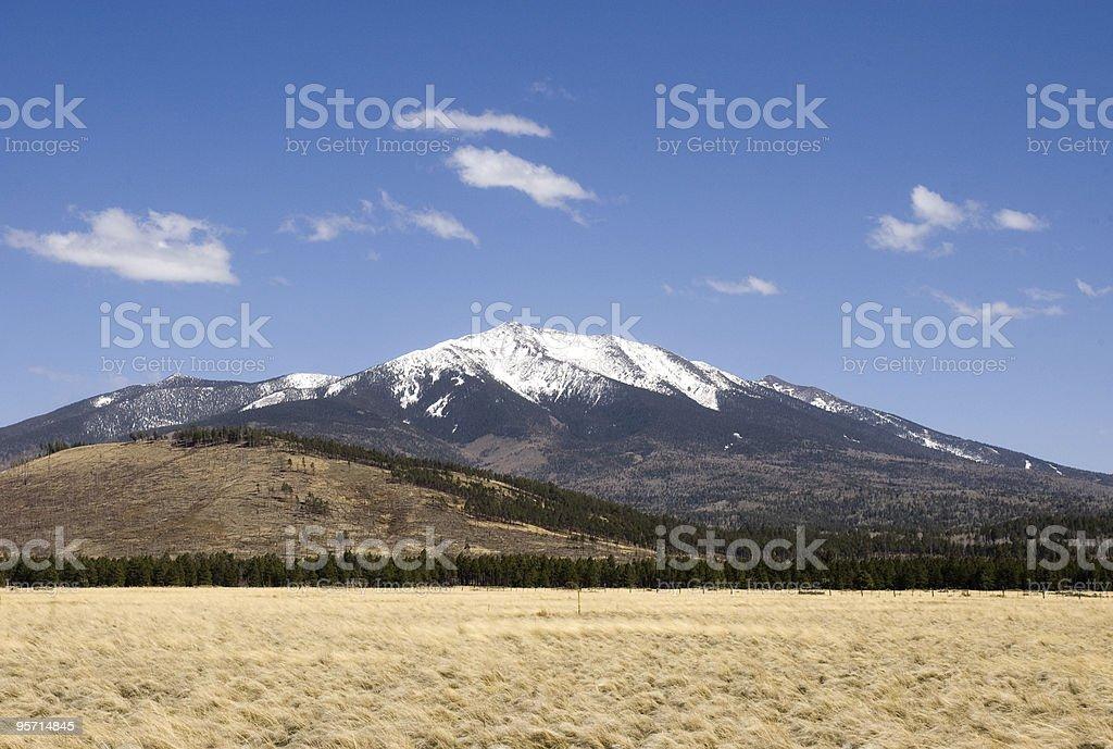 San Francisco Peaks stock photo