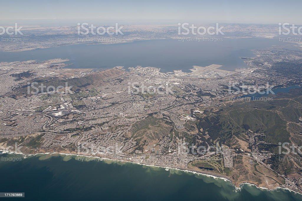 San Francisco Peninsula stock photo