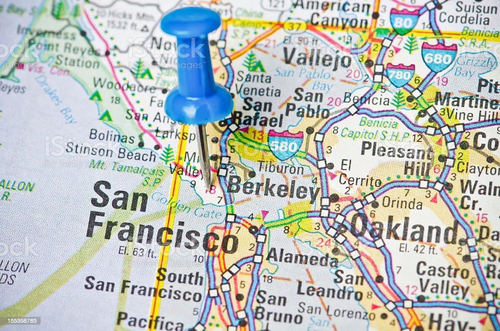 Destination San Francisco, California stock photo