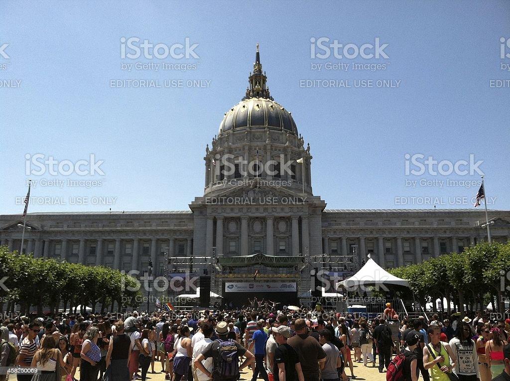 San Francisco Pride Celebration & Parade stock photo