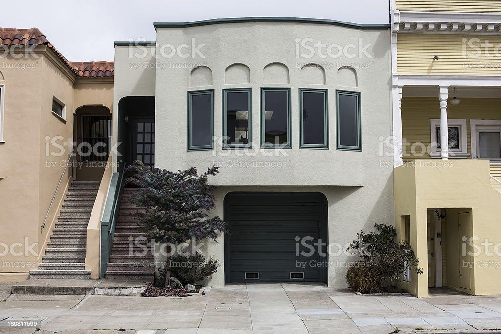 San Francisco Real Estate royalty-free stock photo