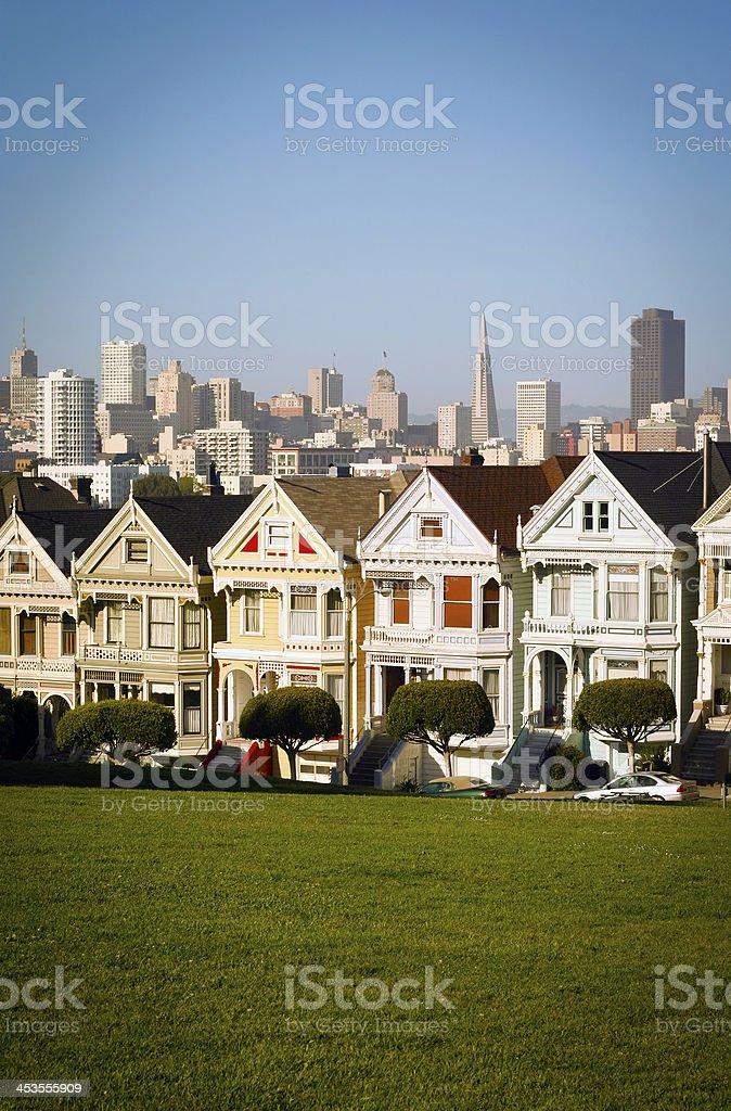 San Francisco scene royalty-free stock photo