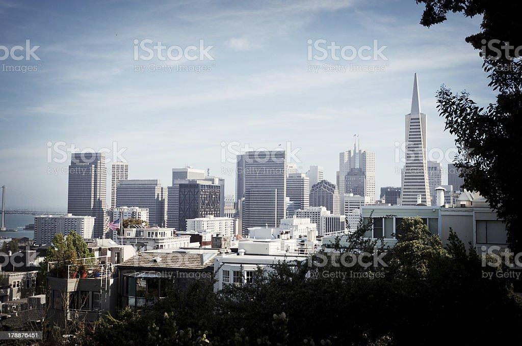 San Francisco Skyline royalty-free stock photo