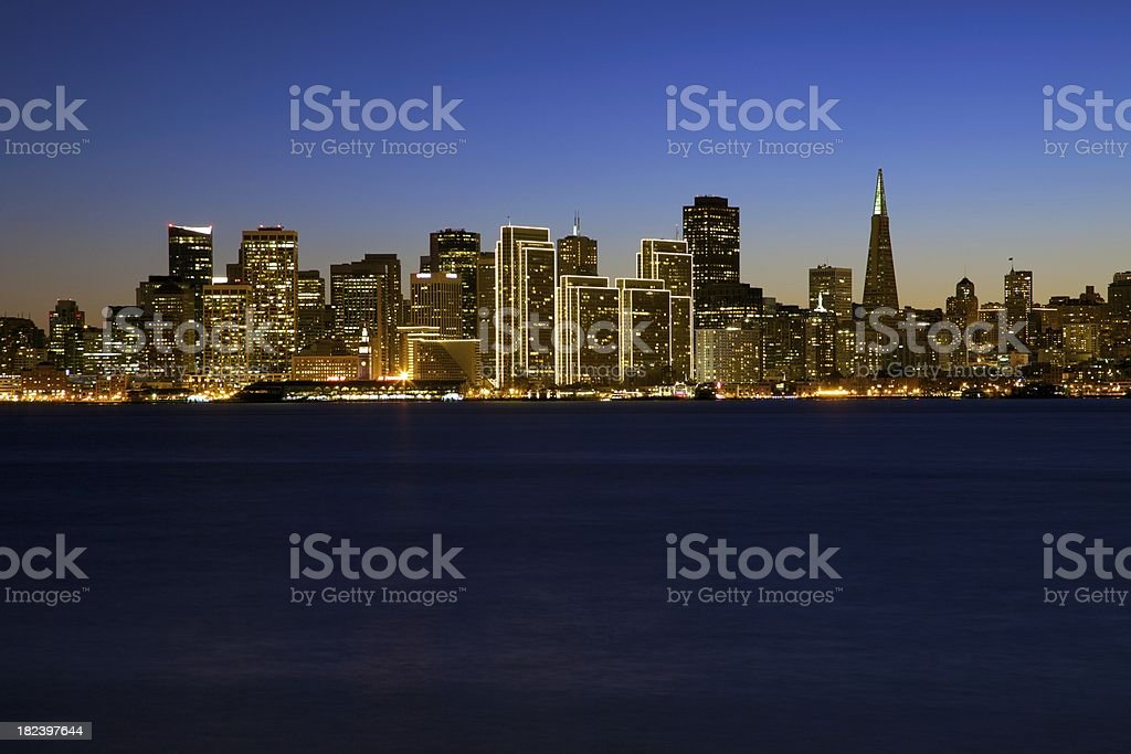 San Francisco Skyline royalty-free stock photo