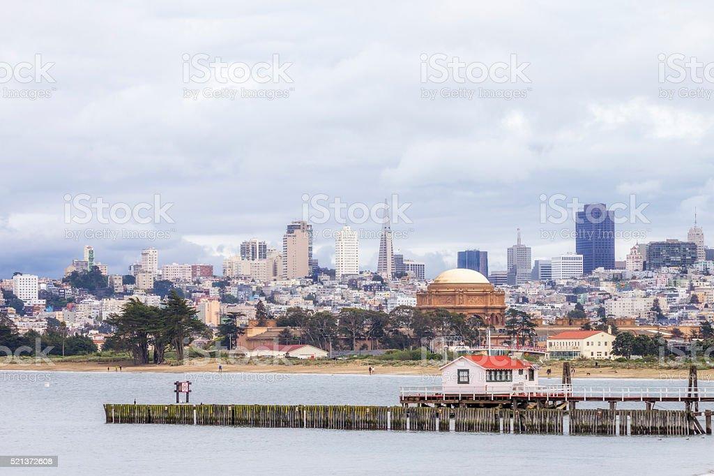 San Francisco Skyline stock photo