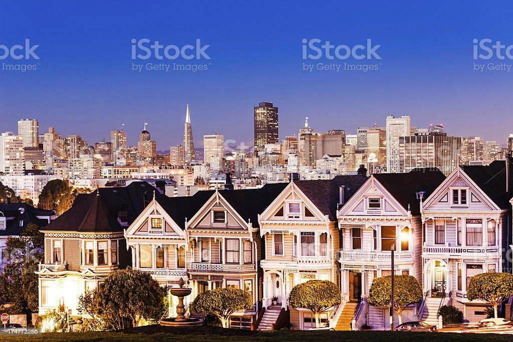 San Francisco skyline, USA stock photo