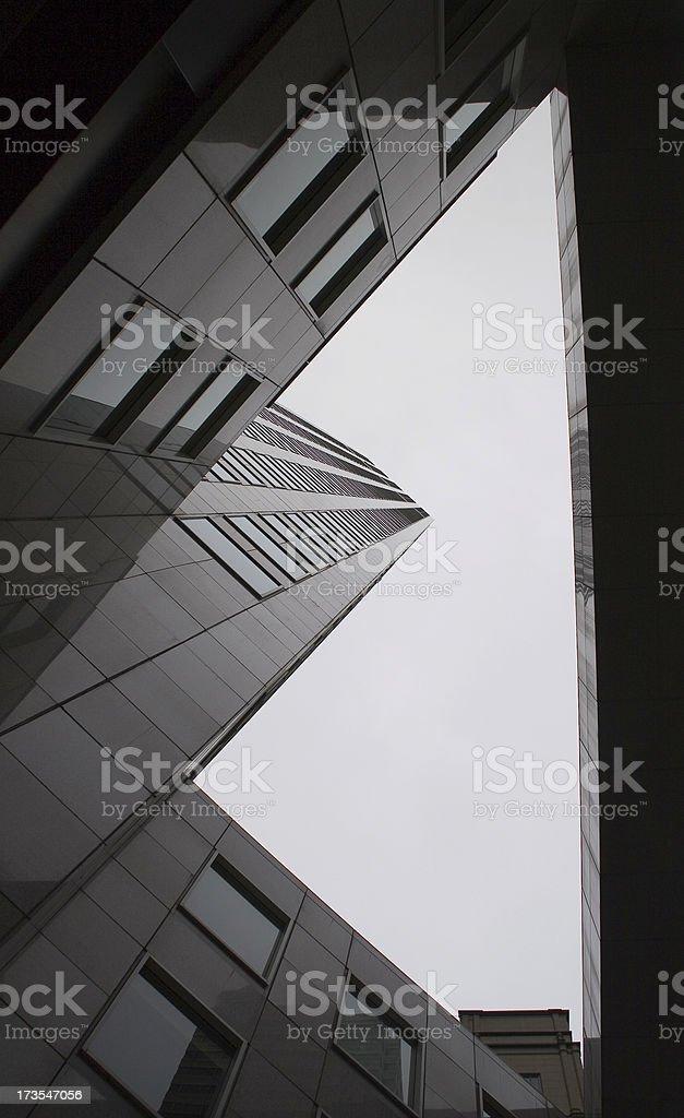 San Francisco: Skyscraper from Below royalty-free stock photo