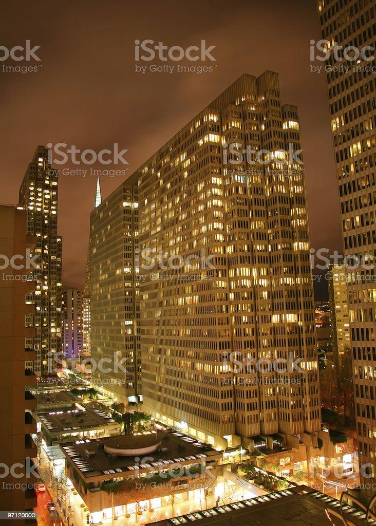 San Francisco Skyscraper royalty-free stock photo
