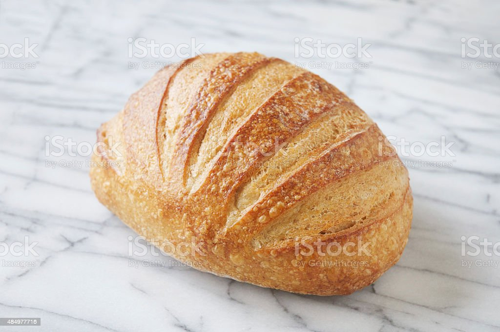 San Francisco Sourdough Bread stock photo