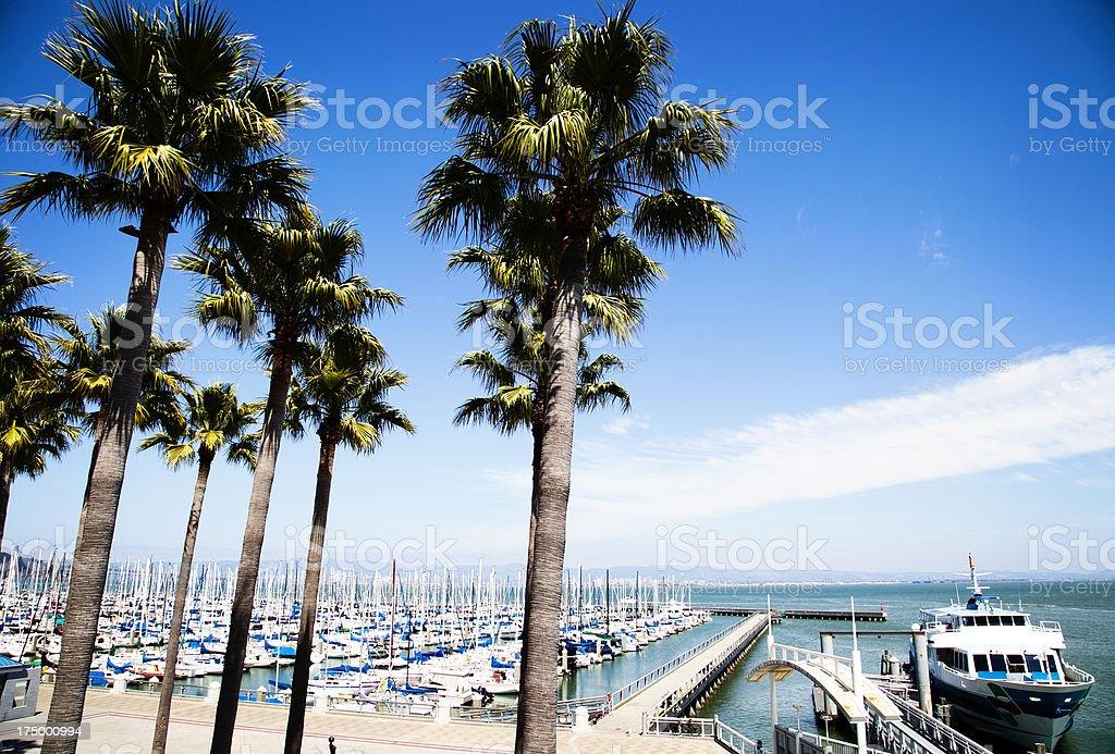 San Francisco South Beach Harbor royalty-free stock photo