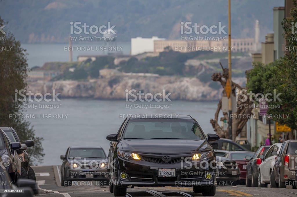 San Francisco street view stock photo