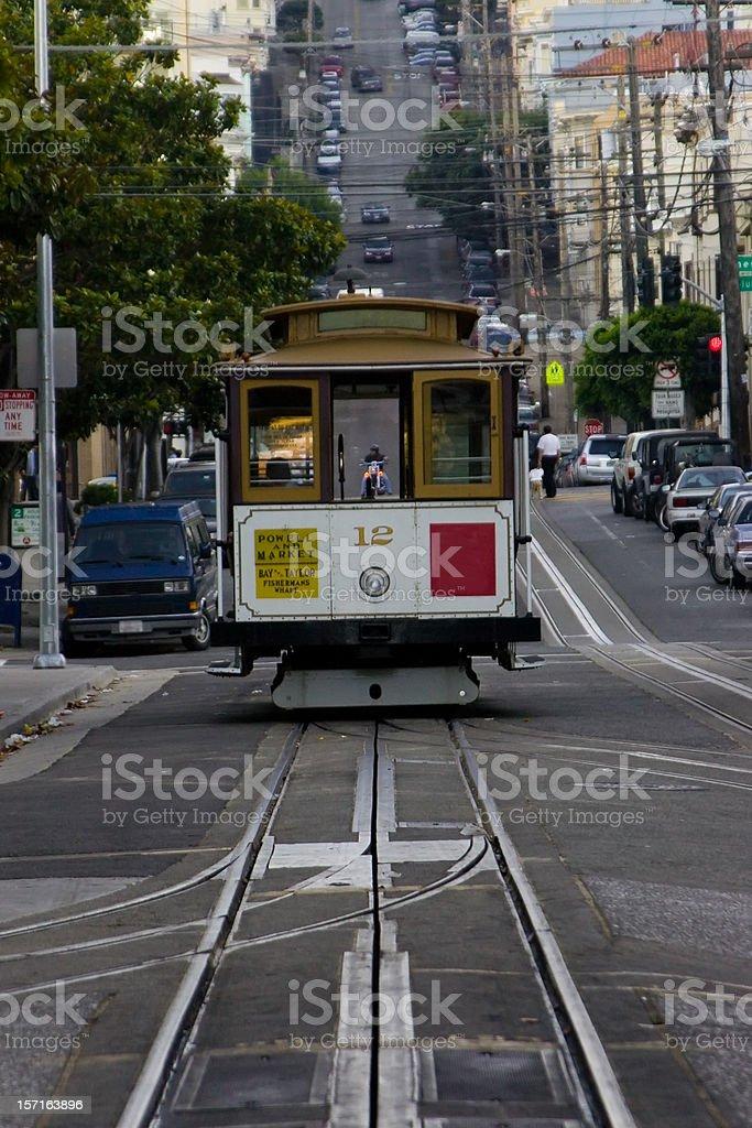 San Francisco streetcar. royalty-free stock photo