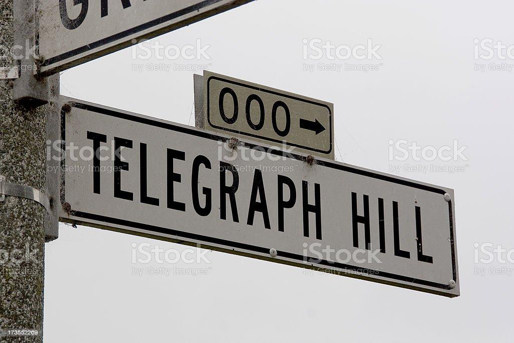 San Francisco: Telegraph Hill stock photo