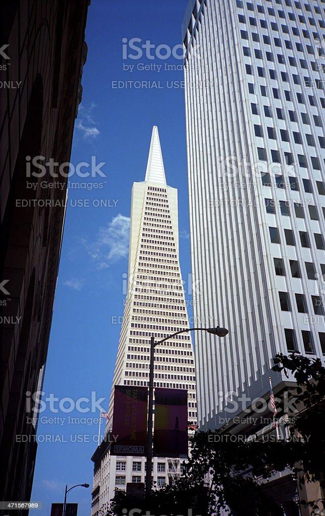 San Francisco - Transamerica Pyramid royalty-free stock photo