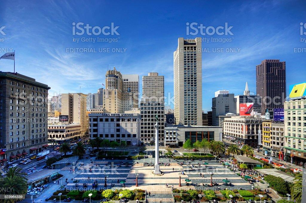 San Francisco Union Square stock photo