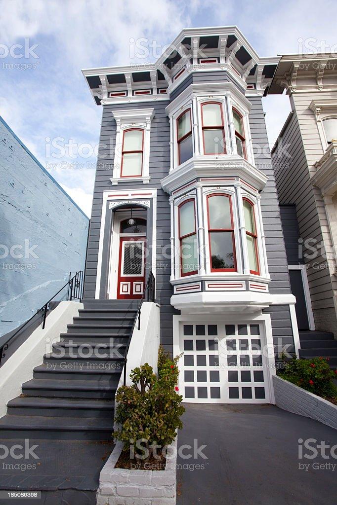 San Francisco Victorian stock photo