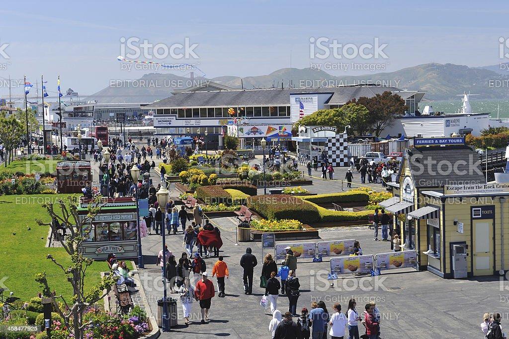 San Francisco Waterfront stock photo