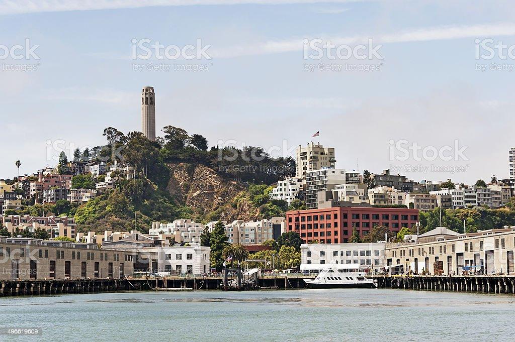 San Francisco Waterfront views stock photo