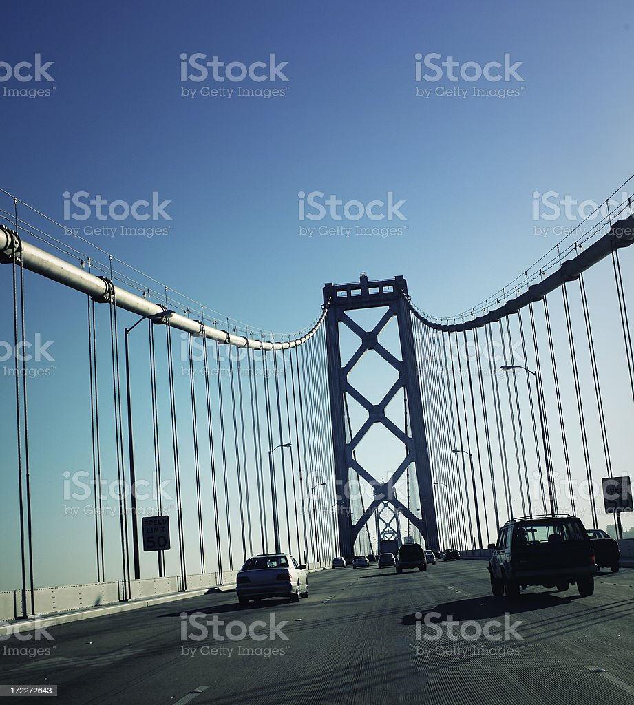 San Francisco-Oakland Bay Bridge stock photo