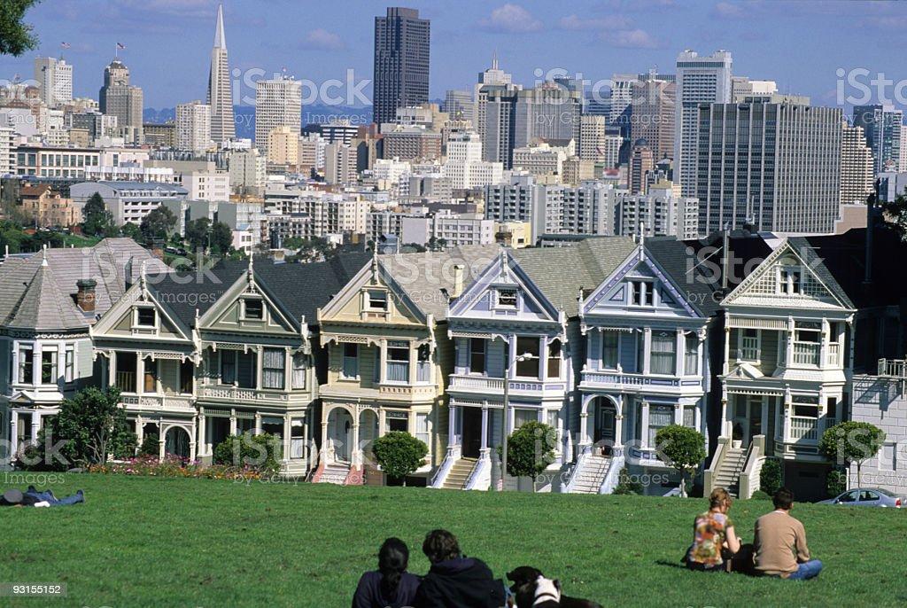 San Francisco's Skyline stock photo
