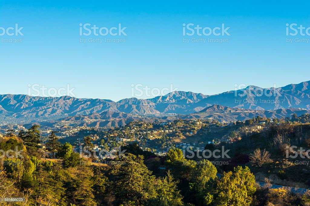 San Gabriel Mountains 2 stock photo