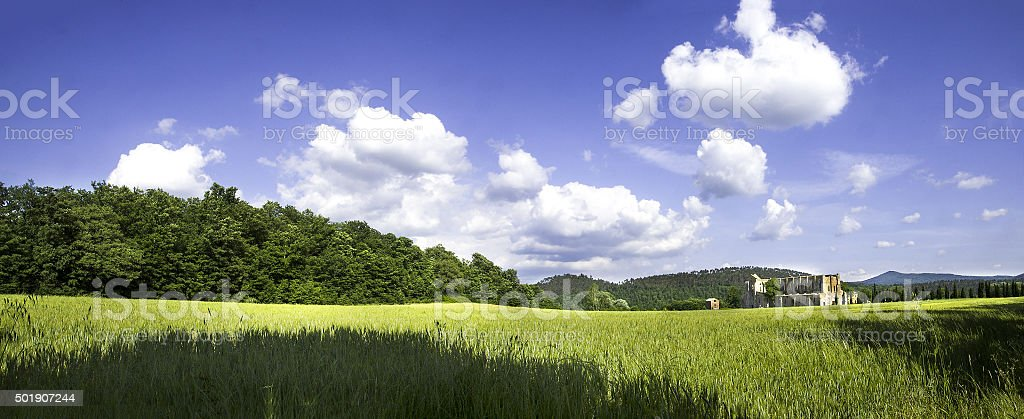 san galgano outdoor stock photo