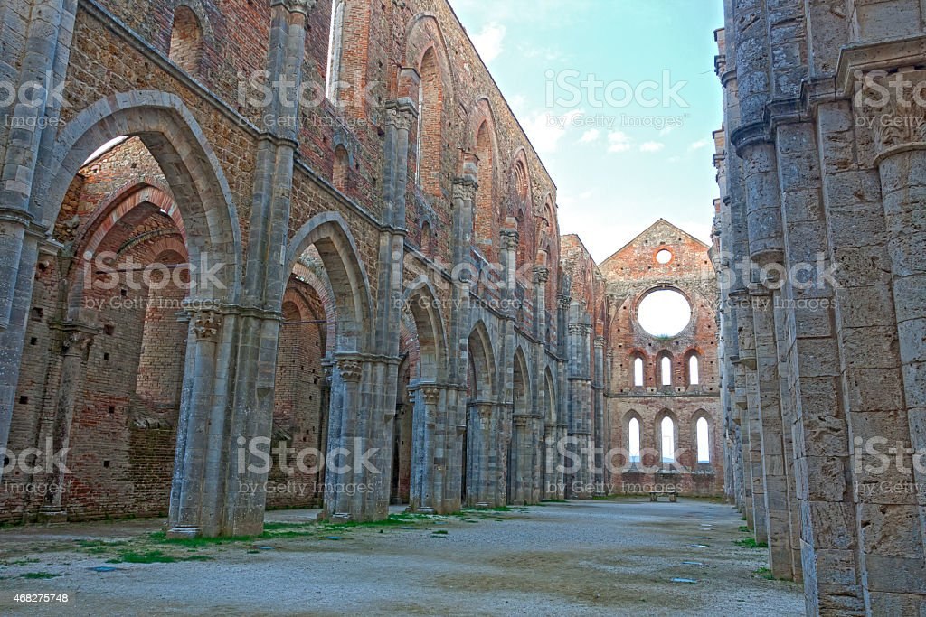San Galgano stock photo