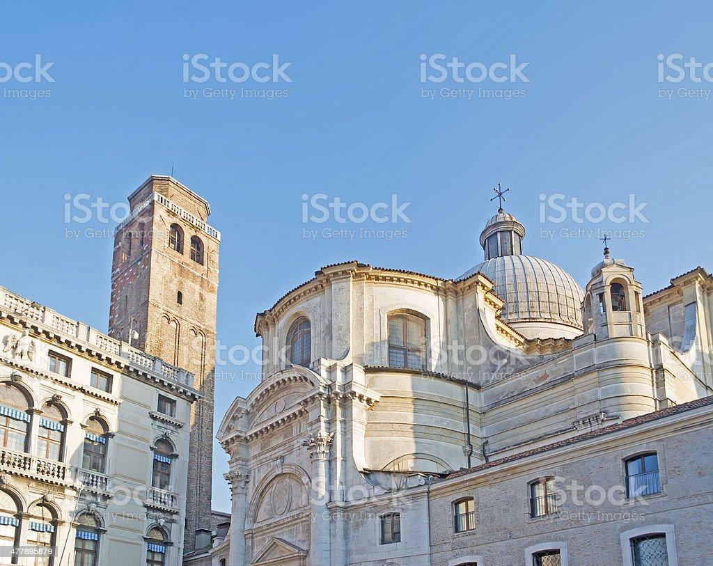 San Geremia church stock photo