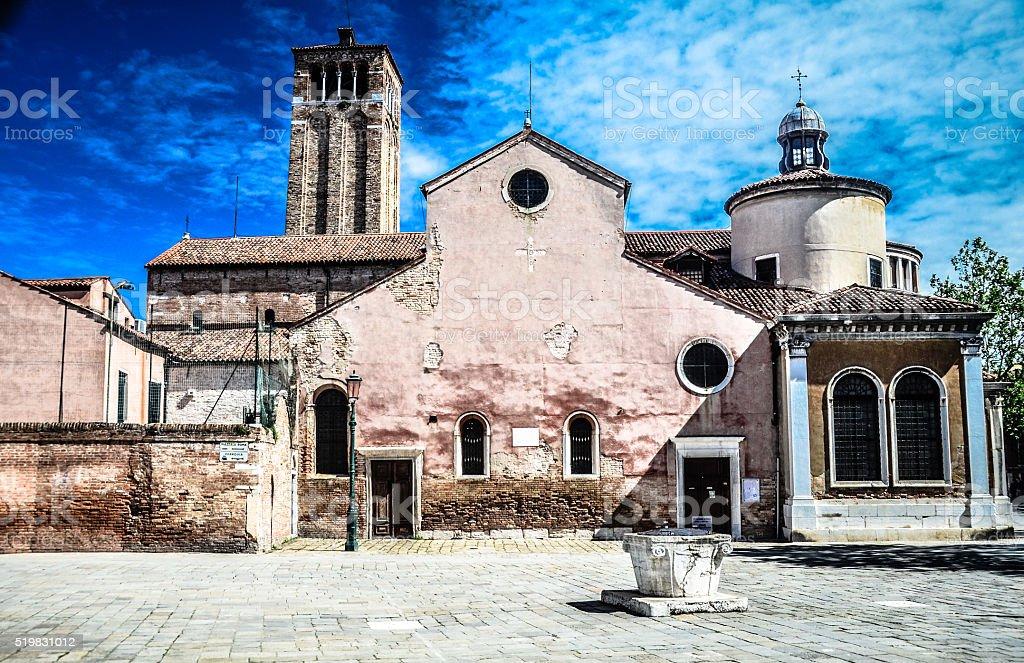 San Giacomo dell'Orio - Venice, Italy stock photo
