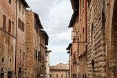 San Gimignano charming narrow streets medieval town