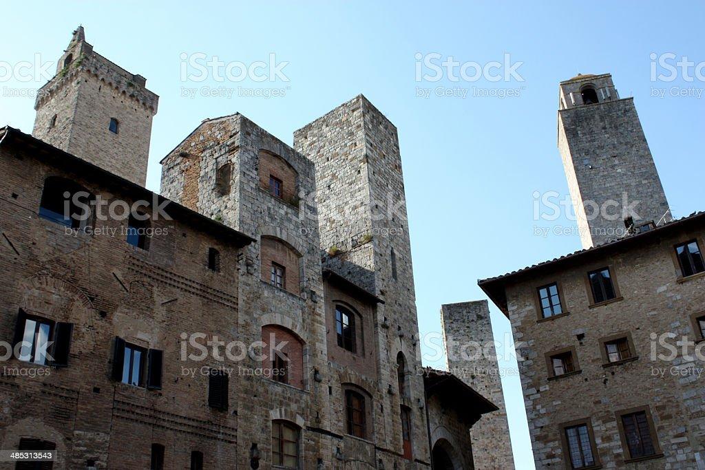 San Gimignano n.12 royalty-free stock photo