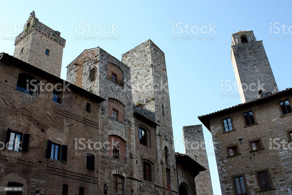 San Gimignano n.12 stock photo