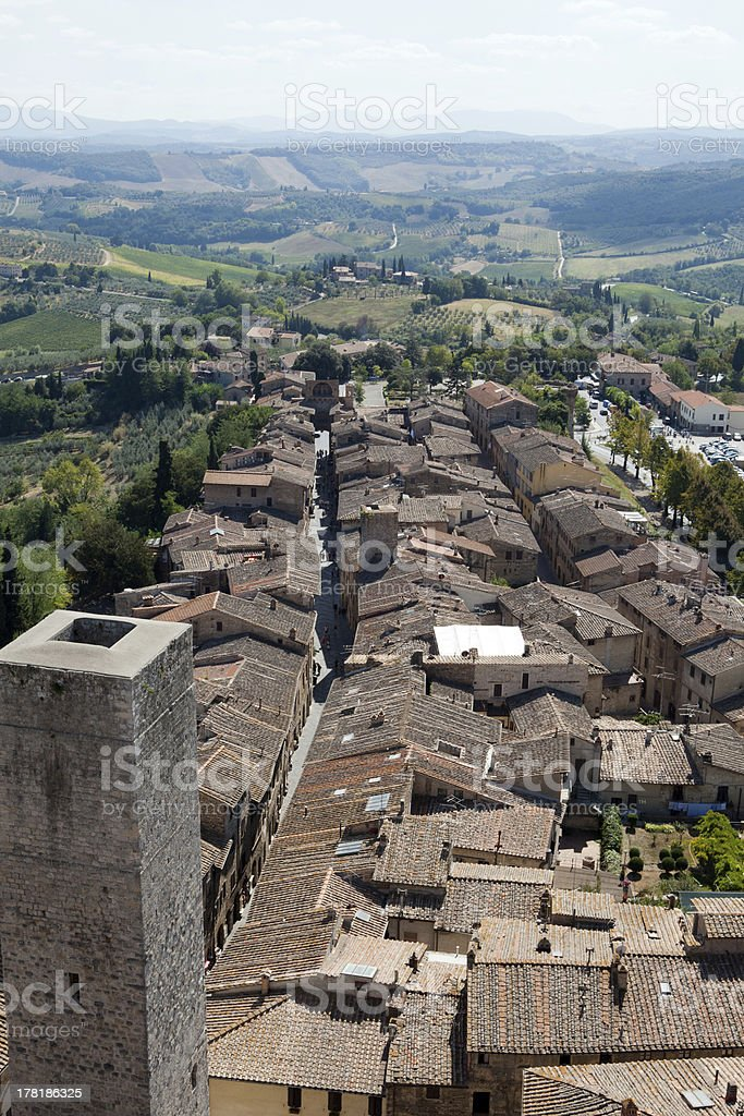 San Gimignano royalty-free stock photo
