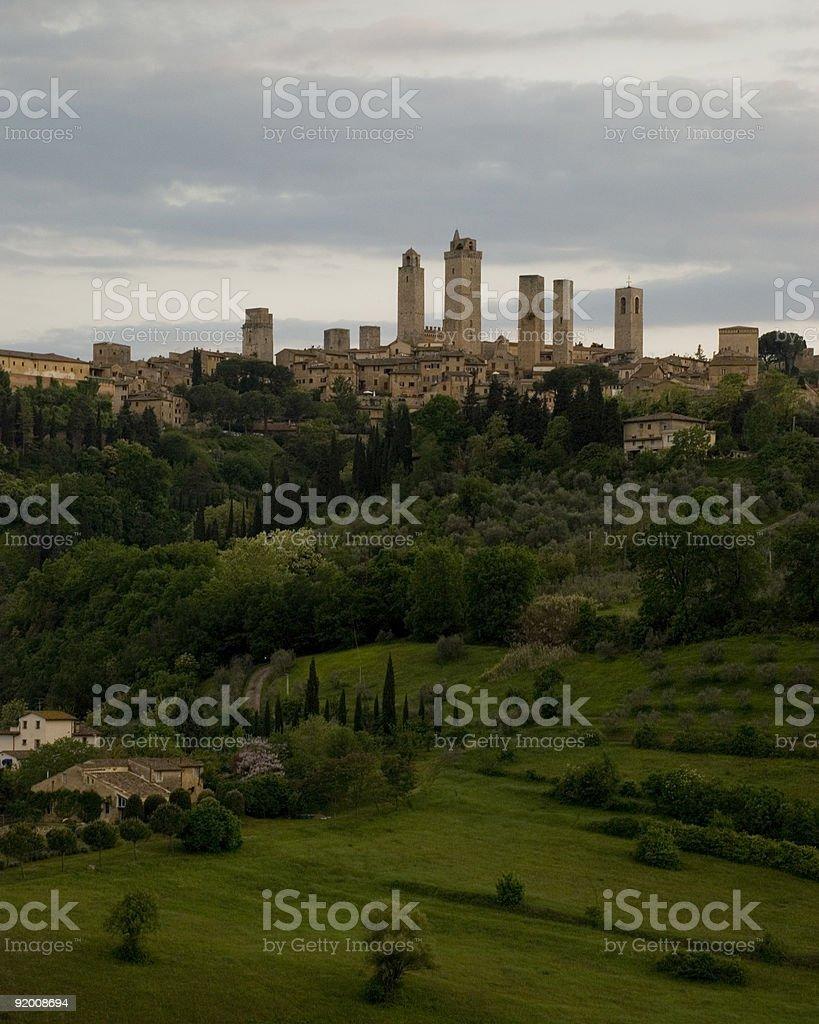 San Gimignano. royalty-free stock photo