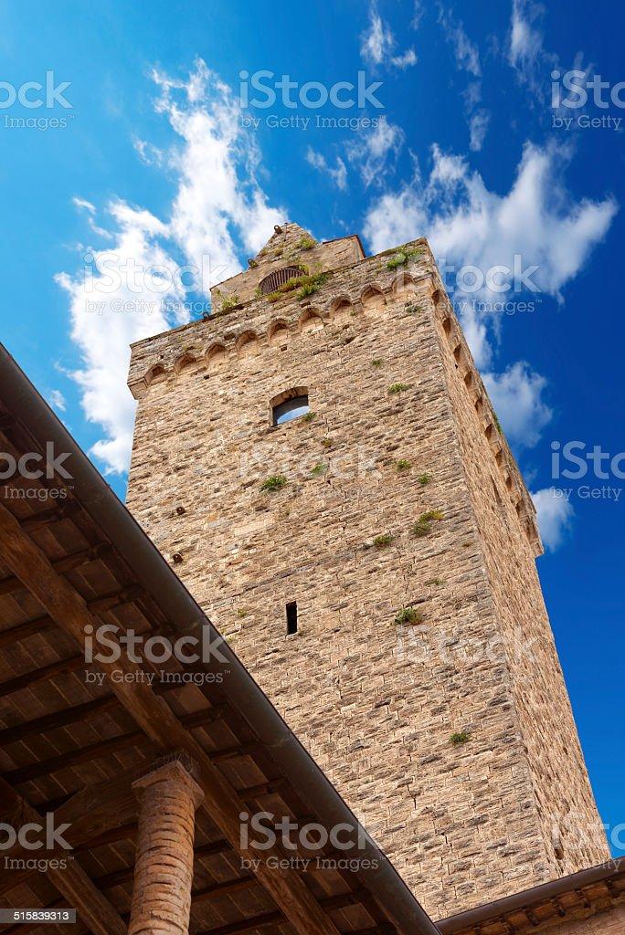 San Gimignano - Siena Tuscany Italy stock photo
