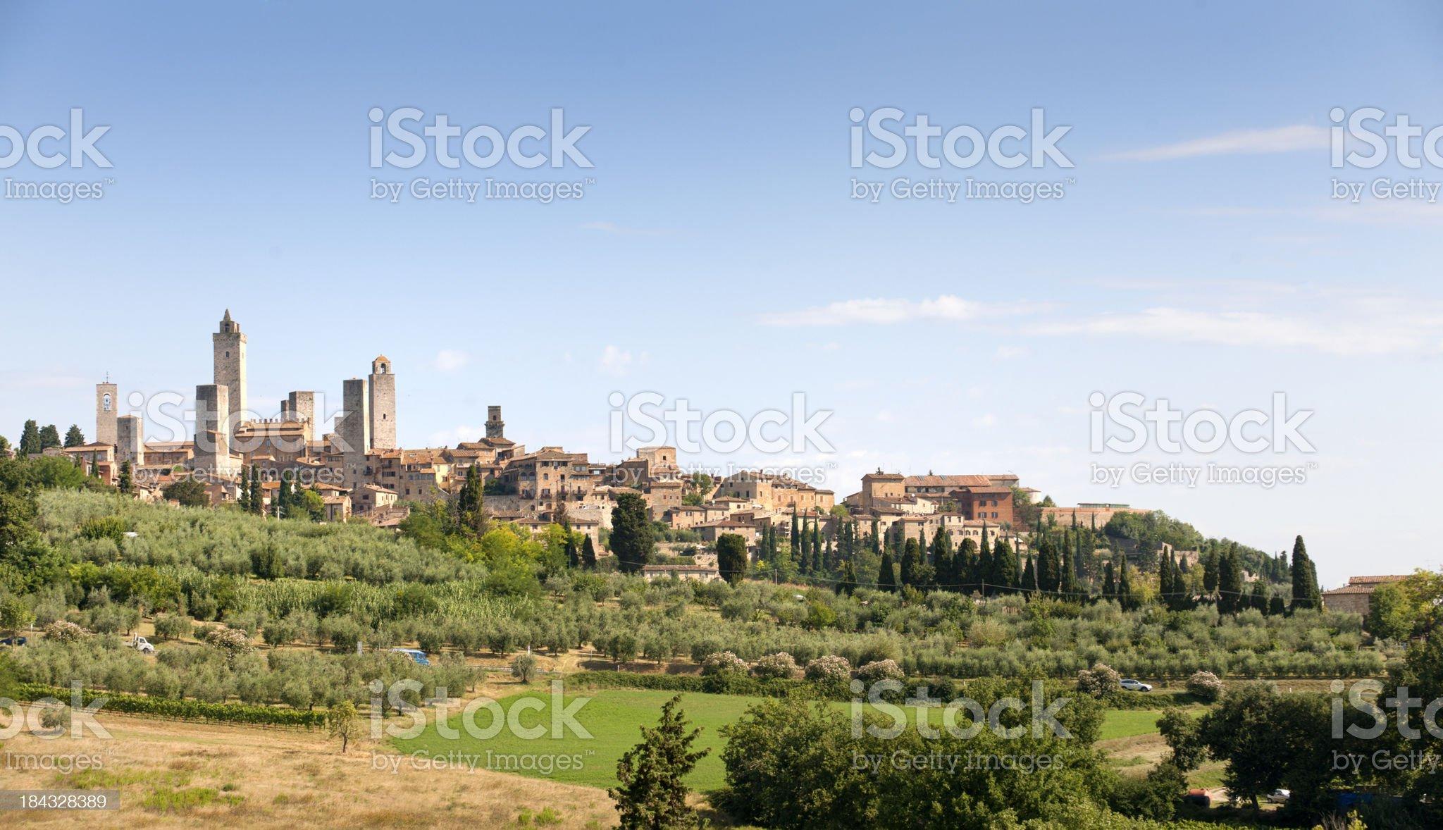 San Gimignano, Tuscany Italy royalty-free stock photo