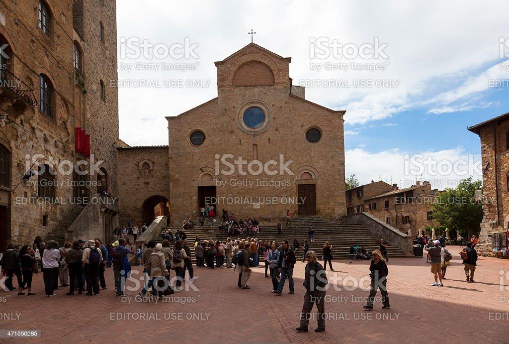 San Gimignano,Tuscany. stock photo