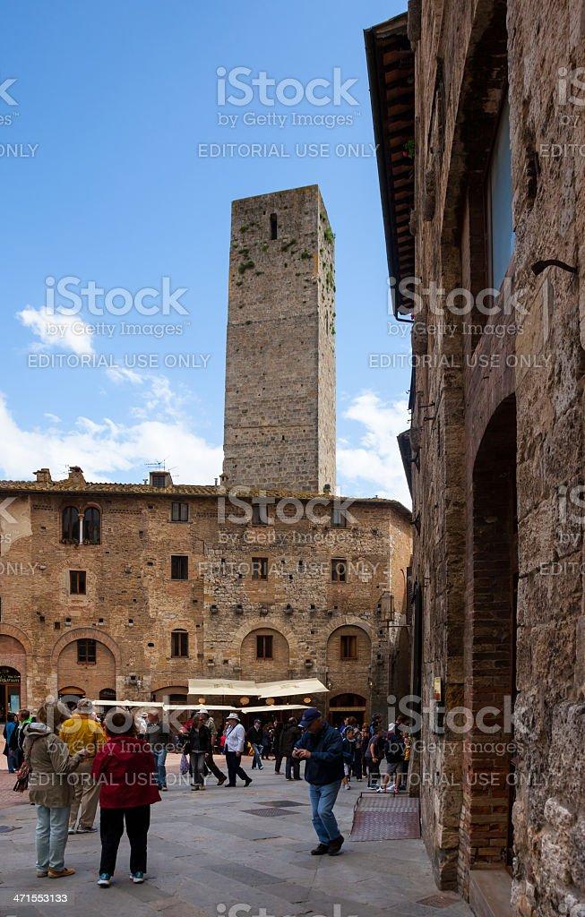 San Gimignano,Tuscany. royalty-free stock photo