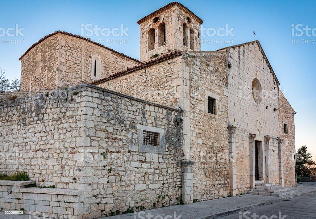 San Giorgio in Campobasso stock photo
