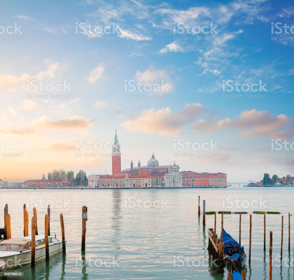 San Giorgio island, Venice, Italy stock photo
