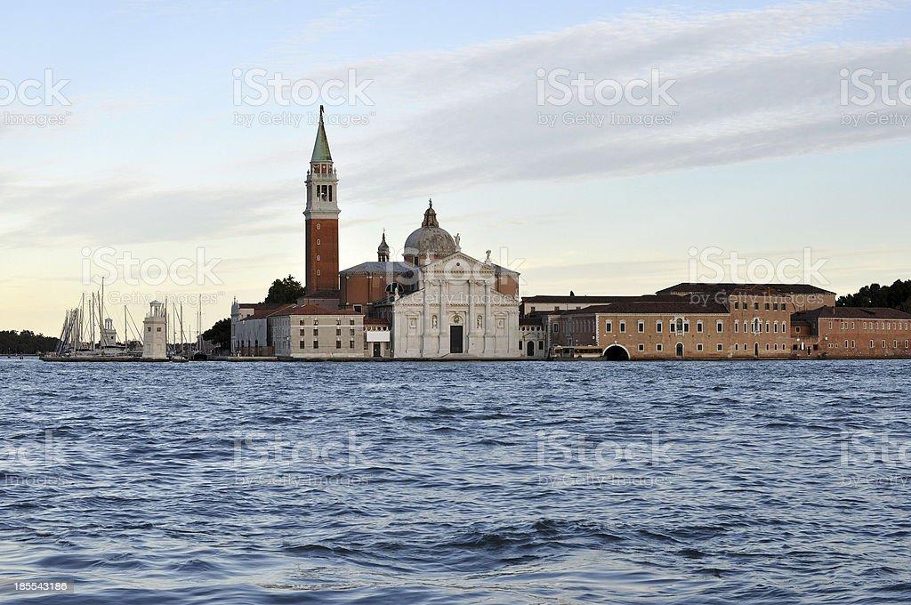 San Giorgio La Giudecca Venice royalty-free stock photo