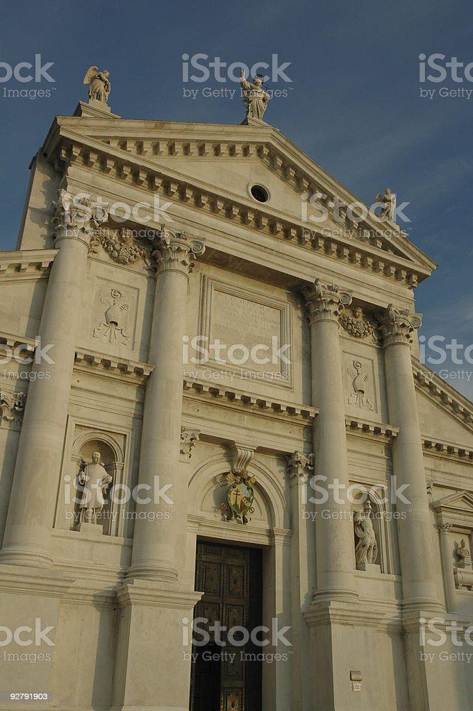 San Giorgio Maggiore, Church, Venice, Italy. royalty-free stock photo