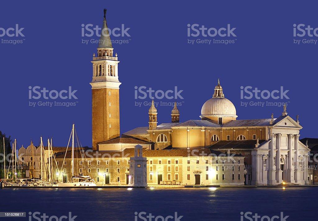 San Giorgio Maggiore in Venice stock photo